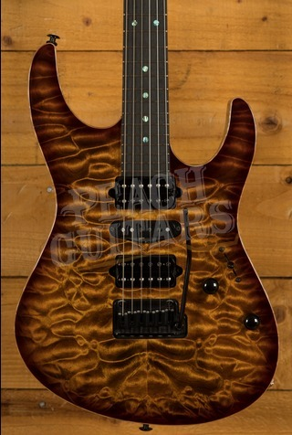 Suhr Custom Modern Bengal Burst Quilt Hand Selected Top