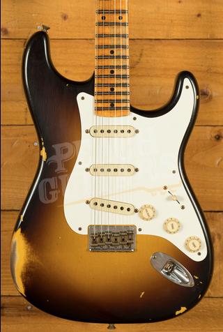 Fender Custom Shop LTD Tropo Strat Heavy Relic Hardtail Super Faded Aged 2TSB