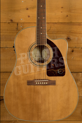 Epiphone AJ-220SCE Solid Top Electro Acoustic Natural *B Stock*