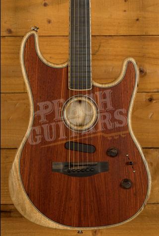 Fender Acoustasonic Stratocaster Exotic Cocobolo W/C