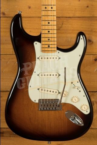 Fender American Deluxe Strat V Neck Sunburst Used
