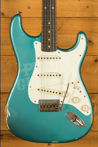 Fender Custom Shop Limited '59 Strat Relic Faded Aged Ocean Turquoise