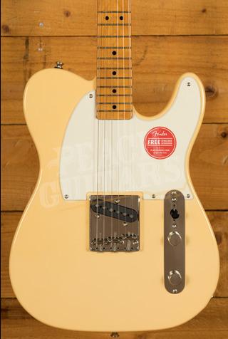 Squier FSR Classic Vibe 50's Esquire Maple Vintage White