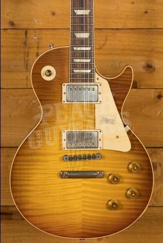 Gibson Custom 60th Anniversary '59 Les Paul Royal Teaburst Peach Guitars M2M
