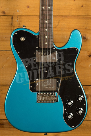 Fender Made in Japan Limited 70s Telecaster Deluxe Tremolo Rosewood Lake Placid Blue