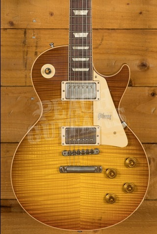Gibson Custom 60th Anniversary '59 Les Paul Royal Teaburst Peach Guitars M2M