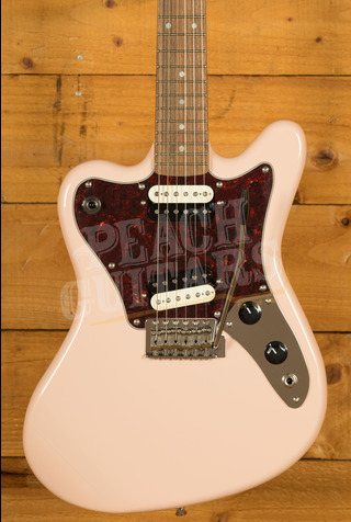 Squier Paranormal Super-Sonic Shell Pink