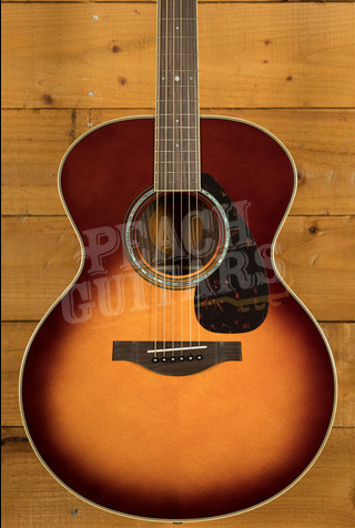 Yamaha LJ6 ARE Brown Sunburst Electro/acoustic with Hard Bag