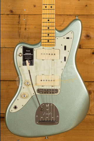 Fender American Professional II Jazzmaster Left-Hand Mystic Surf Green Maple