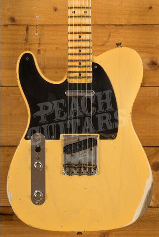 Fender Custom Shop '52 Tele Relic Nocaster Blonde Left Handed