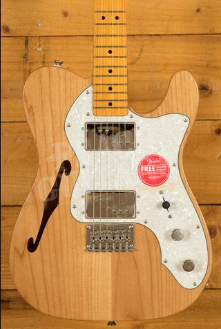 Squier Classic Vibe 70s Tele Thinline Maple Neck Natural B Stock