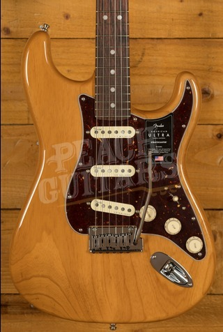 Fender American Ultra Stratocaster Rosewood Aged Natural