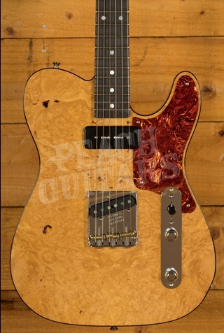 Fender Custom Shop 2020 Artisan Tele Burled Maple Aged Natural