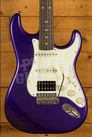 Xotic California Classic XSC-2 - Metallic Purple Custom Colour Light Ageing