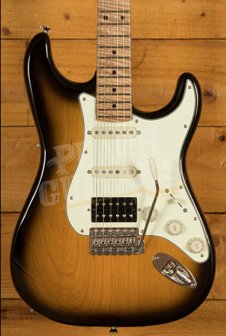 Xotic California Classic XSC-2 - 2 Tone Burst 5A Roasted Flame Maple