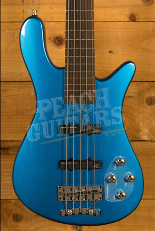 Warwick RockBass Streamer LX 5-String - Metallic Blue High Polish