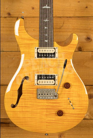 PRS SE Custom 22 Semi-Hollow - Santana Yellow