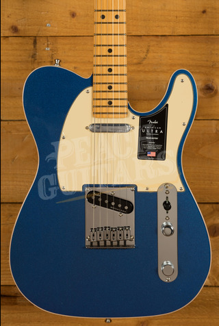 Fender American Ultra Telecaster Cobra Blue Maple