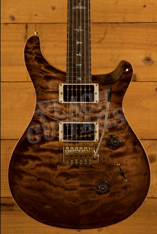 PRS Wood Library Custom 24 Copperheadburst Roasted Maple/Ziricote