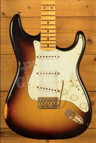 Fender Custom Shop Limited '62 Strat Relic Maple Board 3-Tone Sunburst