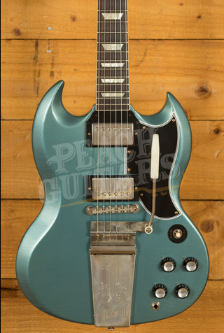Gibson Custom Murphy Lab 1964 SG Standard Reissue w/ Maestro Pelham Blue - Ultra Light Aged