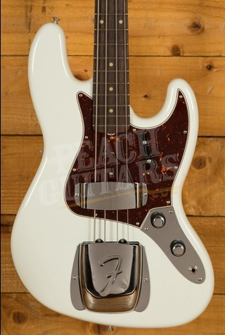 Fender Custom Shop '64 Jazz Bass LCC Olympic White