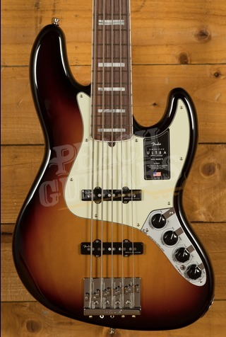 Fender American Ultra Jazz Bass V Ultraburst
