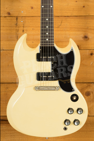 Gibson Custom Murphy Lab 1963 SG Special Reissue Lightning Bar Classic White - Ultra Light Aged
