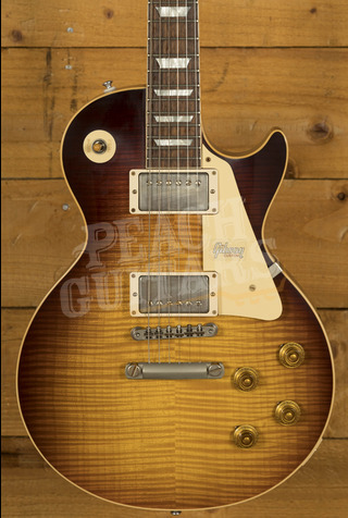 Gibson Custom Shop '59 Les Paul - Dark Bourbon Fade VOS *Handpicked*