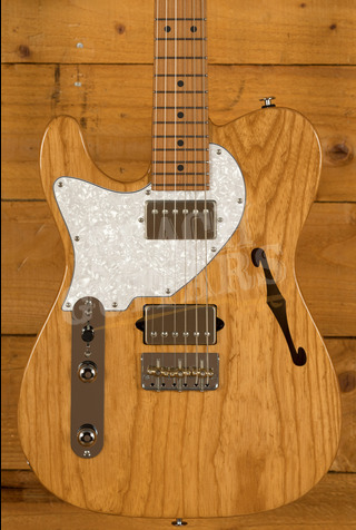 Suhr Alt T Dealer Select - Natural with Roasted Maple Left Handed