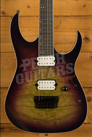 Ibanez Iron Label RGIX6FDLB - Northern Lights Burst