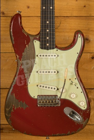 Fender Custom Shop '61 Strat Heavy Relic Dakota Red Dale Wilson