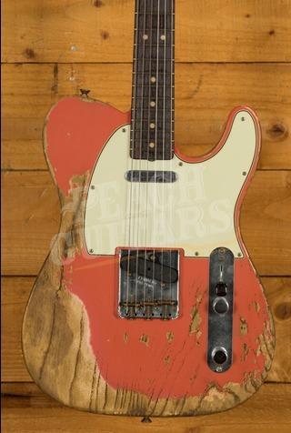 Fender Custom Shop '63 Tele 2019 LTD SFA Tahitian Coral