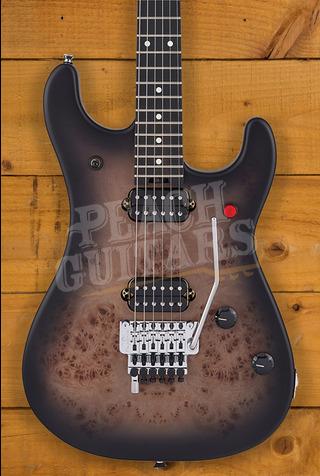 EVH 5150 Series Deluxe Poplar Burl, Ebony Fingerboard, Black Burst