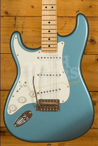 Fender Player Series Strat Left Handed Maple Neck Tide Pool Blue