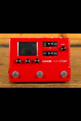 Line 6 Helix HX Stomp Limited Edition Red