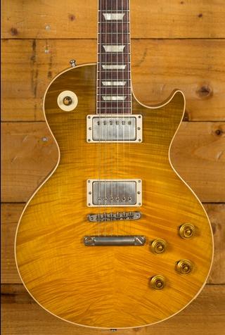 Gibson Custom M2M 60th Anniversary 1959 Green Lemon Fade no Pickguard