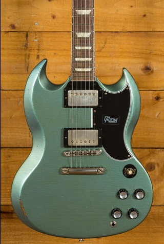 Gibson Custom SG Standard Antique Pelham Blue Aged NH
