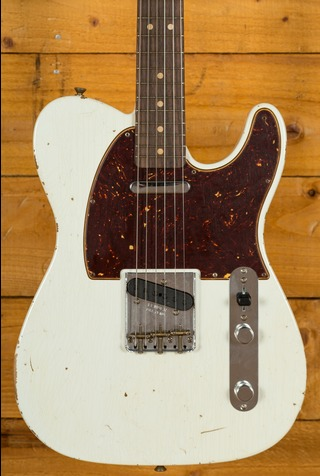 Fender Custom Shop 2017 Limited NAMM '63 Tele Relic Olympic White