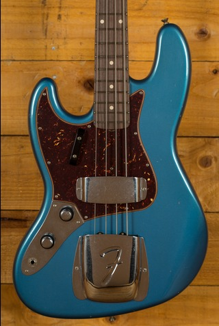Fender Custom Shop LE '62 Jazz Bass Journeyman LH Aged Lake Placid Blue