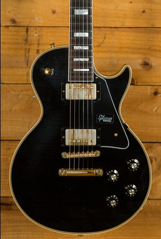 Gibson Custom 68 Les Paul Custom Ebony Lightly Aged