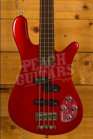 Warwick RockBass Streamer LX 4-String - Metallic Red High Polish