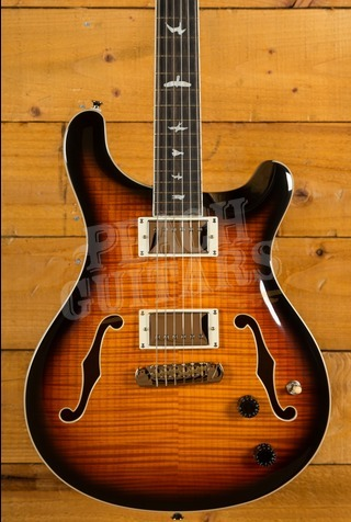 PRS SE HOLLOWBODY II Tricolour Sunburst