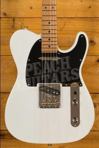 Suhr Classic T Pro Peach LTD - Trans White - Roasted Maple Neck