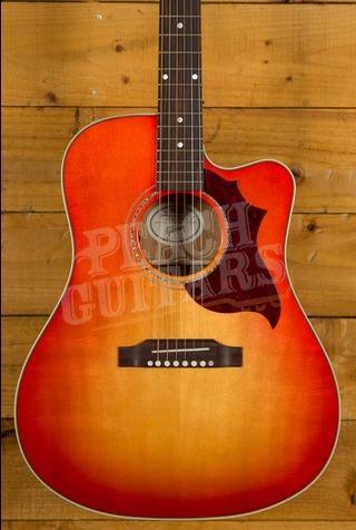 Gibson 2019 Hummingbird Mahogany Avant Garde - Light Cherry Burst