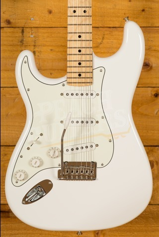 Fender Player Series Strat Left Handed Maple Neck Polar White