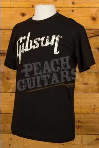 Gibson Logo T-shirt Black