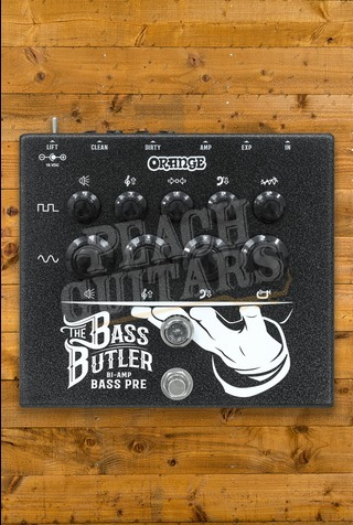 Orange The Bass Butler Bi-Amp Preamp Pedal