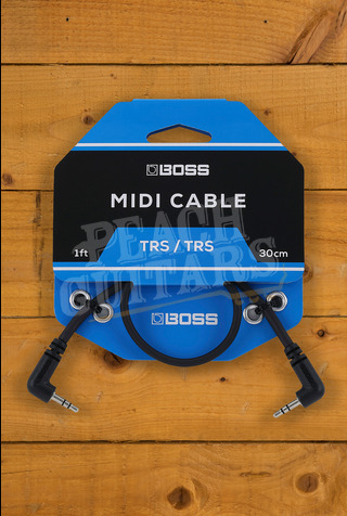 BOSS BCC-3535 TRS MIDI Cables 1ft
