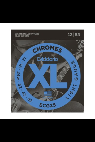 D'addario - 12-52 XL Chromes Light